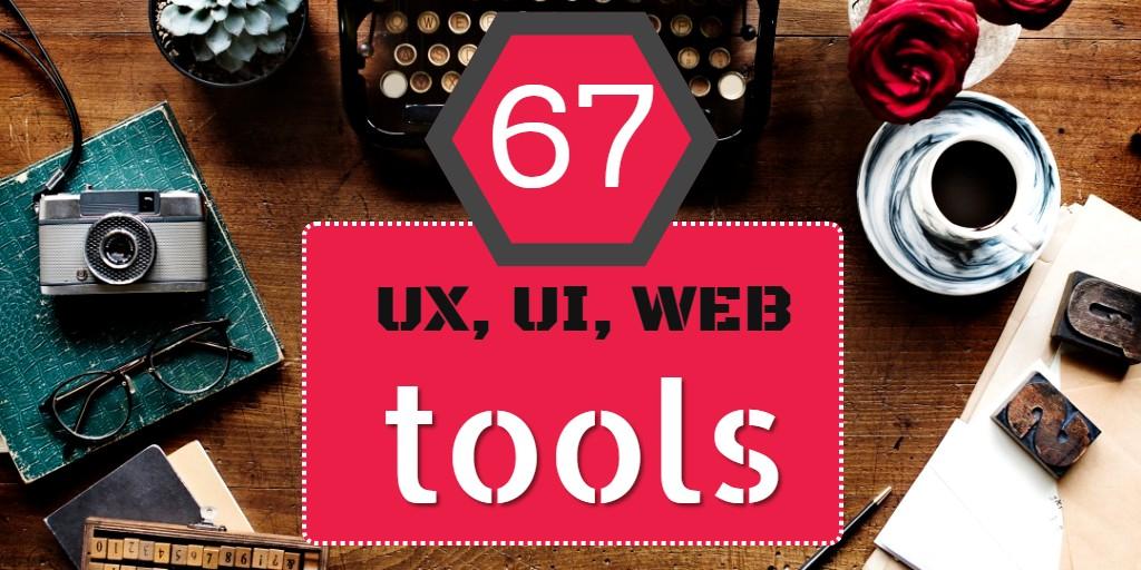 67 ux ui web tools