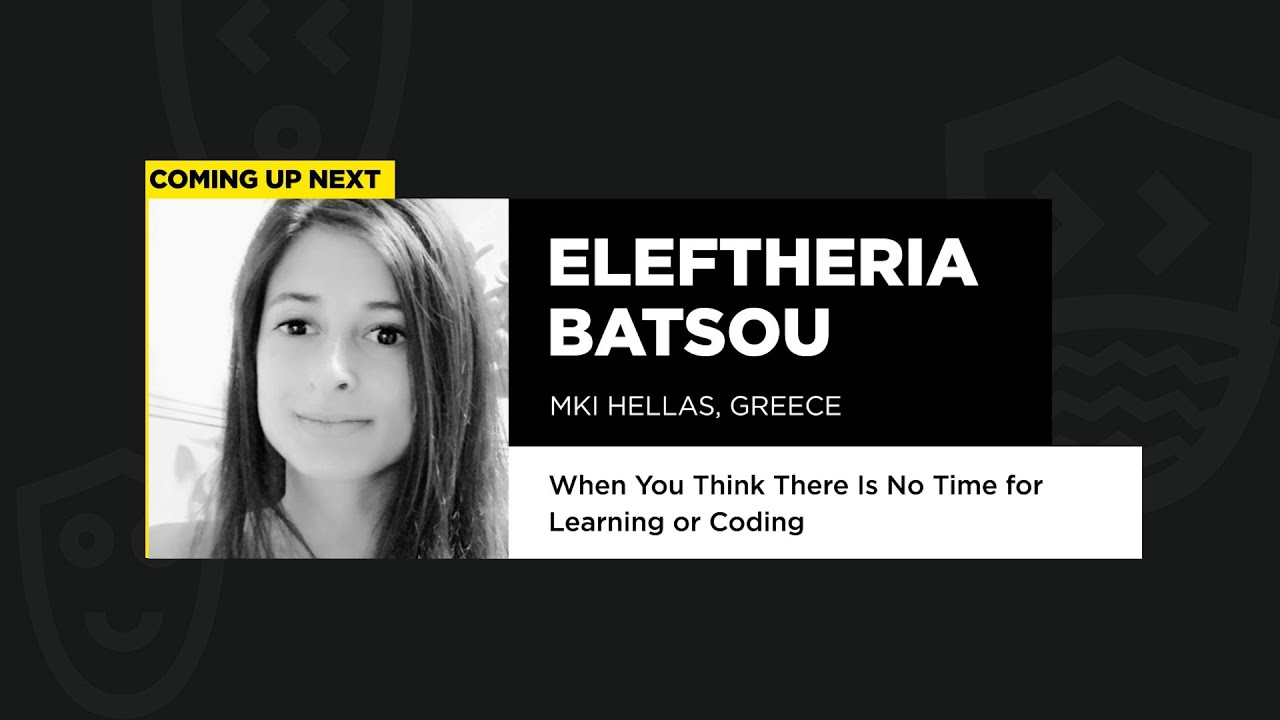 Eleftheria Batsou - Public Speaking