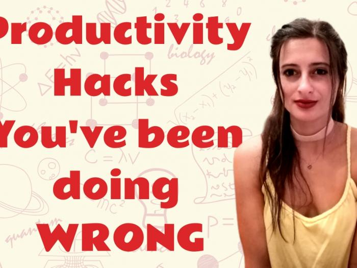 Productivity hacks - Eleftheria Batsou