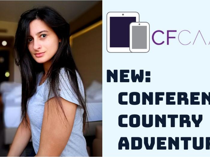 CFCamp - Eleftheria Batsou - Public Speaker