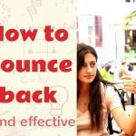 How to bounce back - Elefthera Batsou